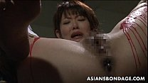 Pouring wax on her wet pussy and she loves the bdsm stuff [노예 플레이 slave abuse]