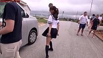 ชวนนักเรียนสาวมาเล่นเซ็กนอกสถานที่กันหน่อย น้องเค้าอยากเสียวxxxเย็ดหีแทบแหก
