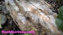 HD Heher Deep gets creampie  quad in river jungle - 9Club.Top