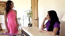 Outdoor lesbian massage