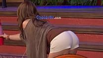 Mexicana Andrea Legarreta mega culote empinada - 720P HD