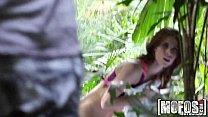 Mofos - Yoga Brunette's Forest Fuck pornhub video