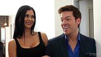Kinky couple fuck in front of an estate agent - Jasmine Jae, Nina Elle at Bskow thumbnail