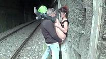 troia italiana scopata alla stazione