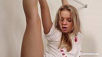 Amazing blonde teen gymnast fucked hard and good thumbnail