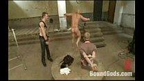 Nasty Master/sub Sex Game Bounded And Banged Hard