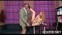 Ravishing angel gets a wild drilling from horny old teacher pornhub video
