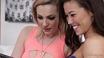 Dahlia Sky, Kalina Ryu and Alexis Texas Lesbian Threesome