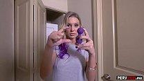 I got the remote control of my bitch stepmoms vibrator thumbnail