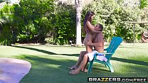 Brazzers - Big Wet Butts - Poolside Bang Bang scene starring Yurizan Beltran and Mick Blue