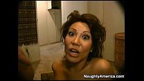 Ava Devine giving a rimjob for a facial porn image