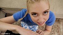 Cute blonde teen pornstar Chloe Cherry makes homemade porn pornhub video