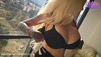 Sabrina Sabrok sexy stripdance