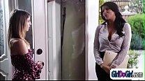 Kristen licking teacher Romi Rains pussy