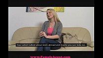 FemaleAgent Big breast casting thumbnail