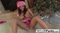 Screenshot Erotics Chri stmas solo with busty Taylor