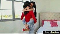 (Cyrstal Rae & Kacey Quinn) Hot Teen Lez Girls Make Love In Sex Scene mov-11