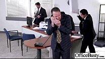 (corinna Blake) Office Girl Get Seduced And Naild Hard Style Clip-12