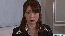 Araki Hitomi busty milf gets ready for hardcore sex