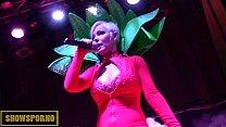 Erotic show in erotic festival