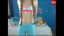 Horny Teen front WebCam #2