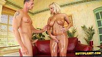 Sexy daughter bondage gang bang pornhub video