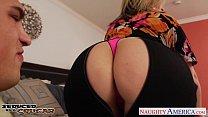 Image: Blonde cougar Sara Jay gets big jugs fucked
