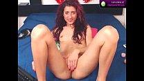 KinkyEliza1 shows her pussy on webcam