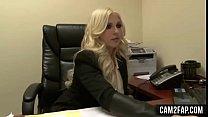 Blonde Secretary Free Anal Porn Video