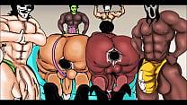 GANGS VERSUS MATURE SBBW TRANNI HARD PART 1 ART Thumbnail