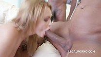 Interracial XXX DAP action leaves slut Emily Thorn's asshole destroyed by 3 Vorschaubild