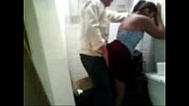 Studen ing in college toilete
