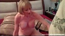 Granny Nympho Sex Threesome thumb