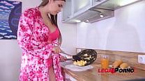 Hard & deep anal penetration makes curvy Sofia Lee's big natural tits shake GP750