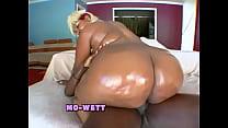 Oiled Big Black Asses