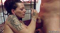 German Monster Tit MILF Seduce to Fuck after Massage thumbnail
