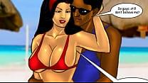 Savita Bhabhi Episode 33 - Sexy Summer Beach pornhub video