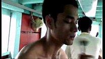 หนุ่มขึ้นเรือมาถ่ายแบบโชว์ควยเป็นลำเสียวเหลือเกินเสร็จเย็ดกันน้ำกระจาย