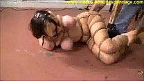 cute Lexi Laine breast bondage