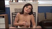 13 inch cock ⁃ hot milf makes guy cum huge loads (pov) thumbnail