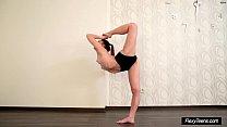 Very Hot Petite Gymnast Anna Preview