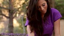 Hottie eats pussy outdoor pornhub video