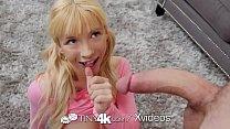 Tiny4k Playful teen Kenzie Reeves valentines da...
