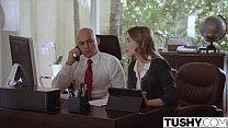 TUSHY.com Submissive secretary punished and sodomised thumbnail