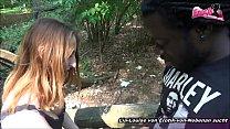 Deutsche Teen ficken in Berlin Tiergarten Public Dreier Vorschaubild