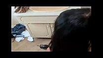 British chav slut fucked in bathroom during visit