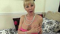 Grandma's pussy still has a lot of mileage left...