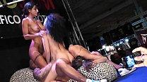 Big dick fucking pornstars on stage