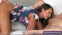 Cali Sparks and Yasmin Scott horny threesome se...
