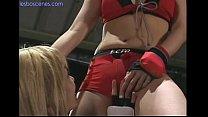 Asian Lesbian MMA fight/love